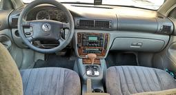 Volkswagen Passat 2002 года за 2 100 000 тг. в Актау – фото 5