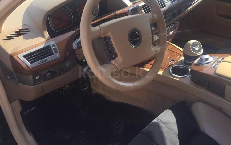 BMW 735 2002 года за 3 800 000 тг. в Алматы