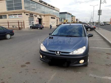 Peugeot 206 2008 года за 1 500 000 тг. в Нур-Султан (Астана) – фото 6