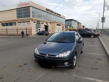Peugeot 206 2008 года за 1 500 000 тг. в Нур-Султан (Астана) – фото 7