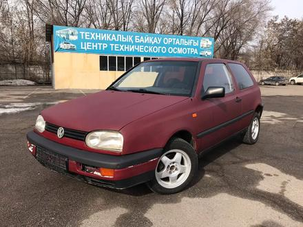 Volkswagen Golf 1995 года за 690 000 тг. в Алматы