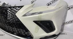 Передний бампер в сборе Lexus Nx F sport обвес за 40 000 тг. в Алматы – фото 3
