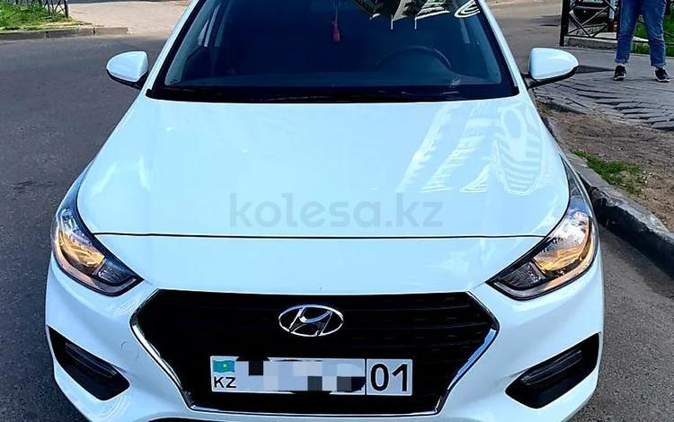 Hyundai Accent 2018 года за 5 500 000 тг. в Нур-Султан (Астана)
