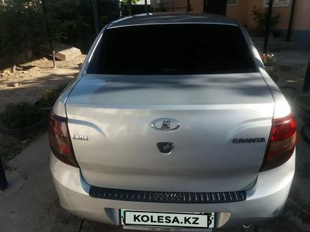 ВАЗ (Lada) 2190 (седан) 2014 года за 2 000 000 тг. в Шымкент – фото 3
