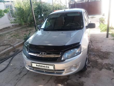 ВАЗ (Lada) 2190 (седан) 2014 года за 2 000 000 тг. в Шымкент – фото 6