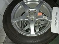 Шины Bridgestone с дисками.215/60/17# 025 за 150 000 тг. в Алматы