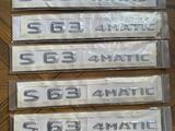Шильдики S63 4MATIC AMG за 20 000 тг. в Шымкент