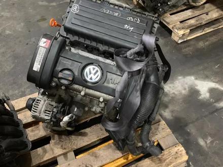Двигатель Volkswagen Golf 1.4I 80 л/с BUD за 294 691 тг. в Челябинск