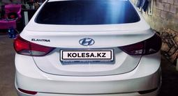 Hyundai Elantra 2015 года за 4 700 000 тг. в Алматы – фото 3