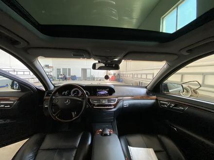 Mercedes-Benz S 550 2007 года за 6 000 000 тг. в Атырау – фото 9