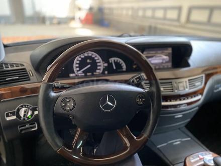 Mercedes-Benz S 550 2007 года за 6 000 000 тг. в Атырау – фото 10