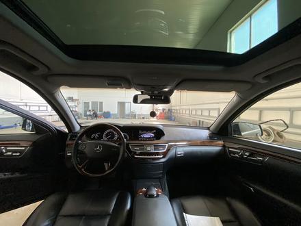Mercedes-Benz S 550 2007 года за 6 000 000 тг. в Атырау – фото 11
