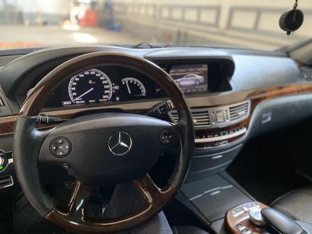 Mercedes-Benz S 550 2007 года за 6 000 000 тг. в Атырау – фото 5