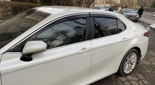 Ветровики камри 70 Toyota Camry 70 дефлекторы окон ветровик за 71 000 тг. в Алматы