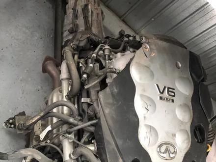 Двигатель из Японии Infinity FX35 за 111 111 тг. в Алматы – фото 2