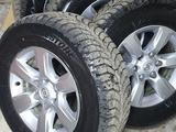 Колёса в сборе Тойота Оригинал R17 прадо 155, зима за 350 000 тг. в Караганда – фото 2