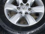 Колёса в сборе Тойота Оригинал R17 прадо 155, зима за 350 000 тг. в Караганда – фото 3