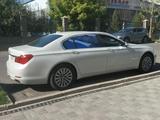 BMW 740 2009 года за 9 500 000 тг. в Алматы – фото 4