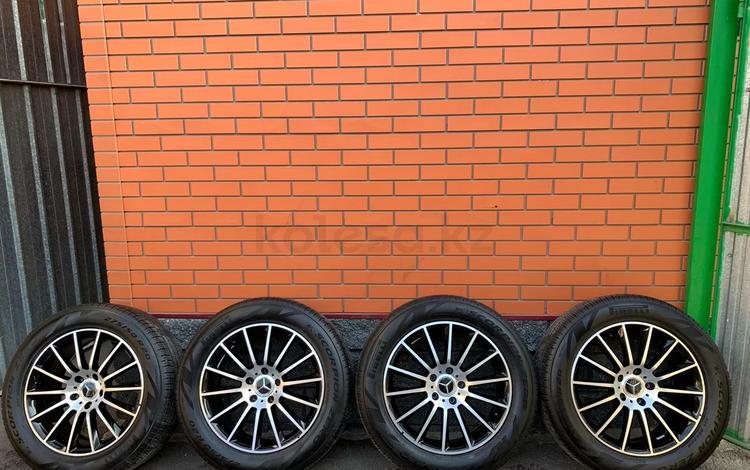 Оригинал диски с резиной мерседес gкласс модель 2019 за 1 350 000 тг. в Алматы