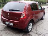 Renault Sandero 2011 года за 3 050 000 тг. в Петропавловск – фото 4