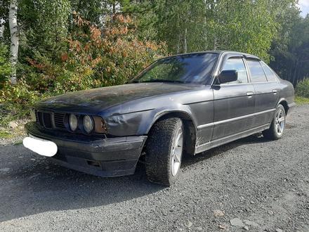 BMW 520 1990 года за 1 200 000 тг. в Риддер – фото 4