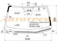 Стекло Лобовое 861103j310 Hyundai Veracruze за 100 000 тг. в Алматы