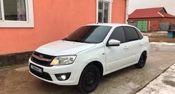 ВАЗ (Lada) 2190 (седан) 2014 года за 2 100 000 тг. в Атырау – фото 3
