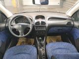 Peugeot 206 2005 года за 1 200 000 тг. в Нур-Султан (Астана) – фото 3