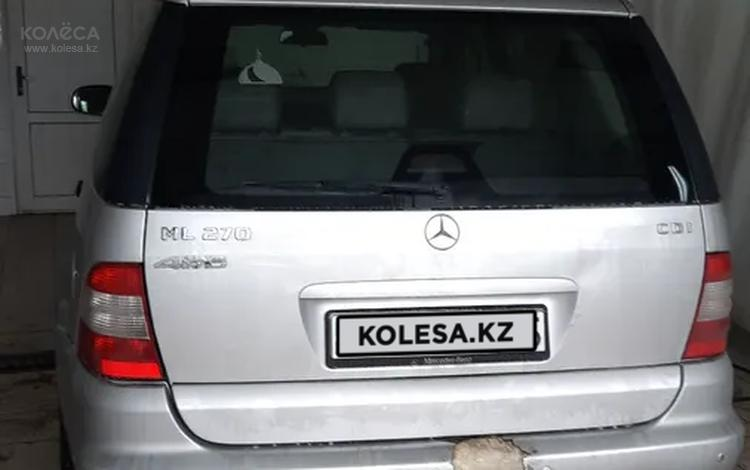 Mercedes-Benz ML 270 2002 года за 2 000 000 тг. в Капшагай