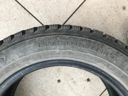 Зимняя шипованная резина Nokian Nordman 5 за 35 000 тг. в Нур-Султан (Астана) – фото 2