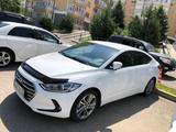 Hyundai Elantra 2017 года за 7 200 000 тг. в Алматы – фото 2