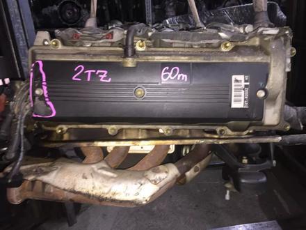 Контрактный двигатель 2TZ 2, 4 4wd за 270 000 тг. в Караганда – фото 2