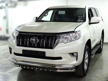 Защита бамперов на Toyota LAND Cruisers Prado 150 за 100 000 тг. в Алматы – фото 2