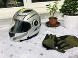 Шлем подкат перчатки чайка R1 за 40 000 тг. в Алматы – фото 3