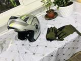 Шлем подкат перчатки чайка R1 за 40 000 тг. в Алматы – фото 4