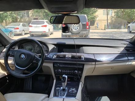 BMW 750 2009 года за 10 000 000 тг. в Нур-Султан (Астана) – фото 13