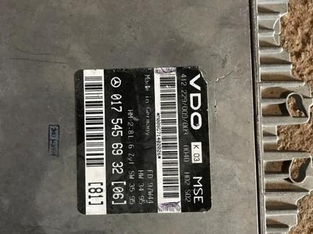 Компьютер двигателя ЭБУ на мерседес 124 e280 за 45 000 тг. в Алматы