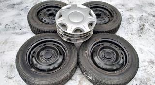 Комплект дисков с шинами 155/70/13. Matiz. за 55 000 тг. в Алматы