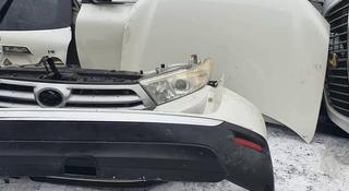 Toyota highlander задынй бампер за 222 222 тг. в Алматы