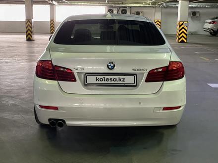 BMW 528 2016 года за 14 000 000 тг. в Тараз – фото 10
