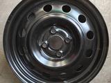 Новые диски 4/100 R 15 Kia Rio (Hyundai Accent) 2011-2016 г. за 9 750 тг. в Павлодар