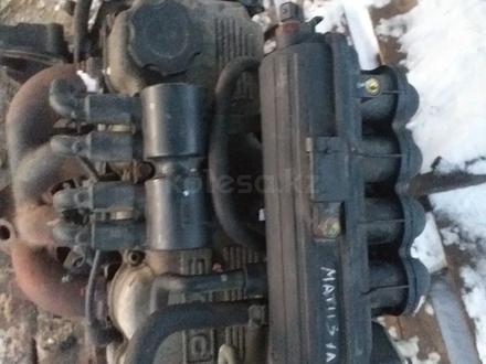 Двигатель дэу матиз объем 1.0 в Костанай – фото 2
