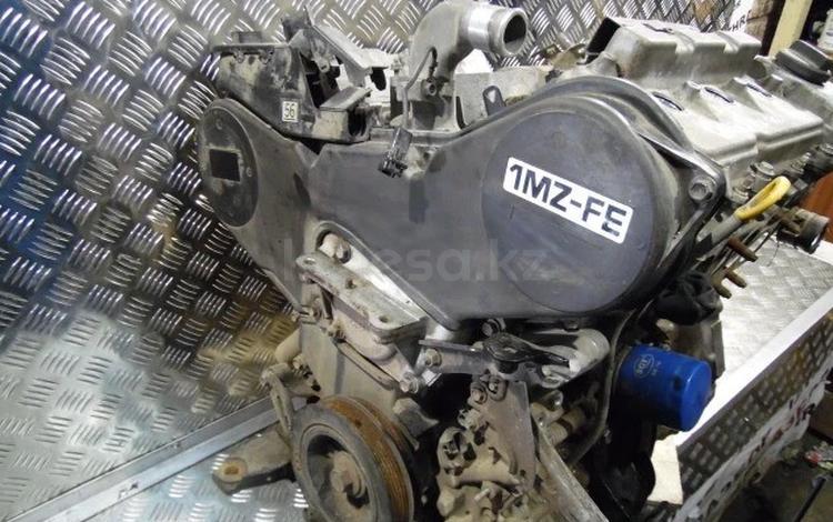 Двигатель toyota highlander 3.0L мотор 1mz-fe за 20 011 тг. в Алматы