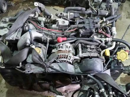 Контактный двигатель на Субару EJ20 2х. расп. вальный за 200 000 тг. в Нур-Султан (Астана) – фото 2