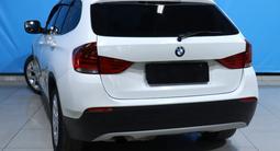 BMW X1 2011 года за 5 730 000 тг. в Алматы – фото 5