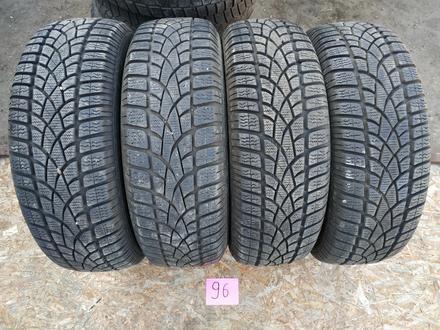 Резина б у 195*65*15 Dunlop (M + S) зима, 4 шт., комплект б у из Европы. за 50 000 тг. в Караганда