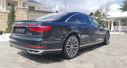 Audi A8 2019 года за 42 000 000 тг. в Алматы – фото 3