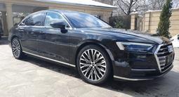 Audi A8 2019 года за 42 000 000 тг. в Алматы – фото 4