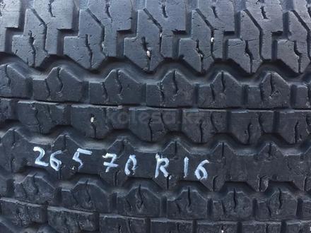 Резина r16 265/70 Dunlop одиночка, из Японии за 17 000 тг. в Алматы