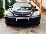 Mercedes-Benz S 600 2000 года за 4 500 000 тг. в Алматы – фото 3
